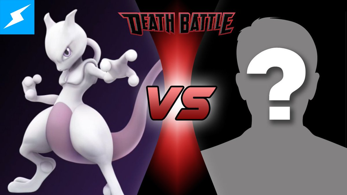WHO WILL FACE MEWTWO IN DEATH BATTLE?! We'll reveal it TOMORROW afternoon! OR when this gets 1500 RT's! #Pokemon https://t.co/d9lJIeik3s