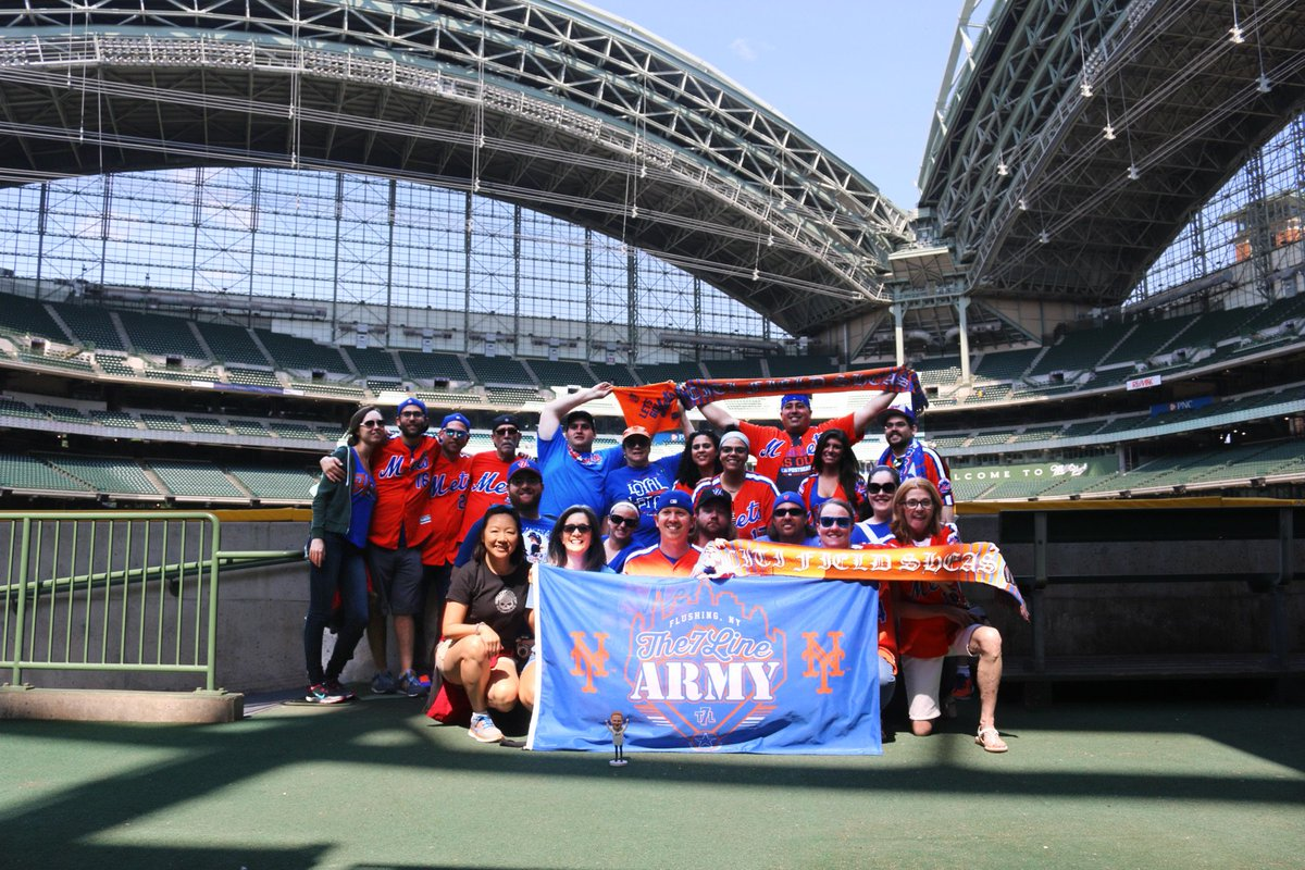 @the7line @The7LineArmy Miller Park tour https://t.co/NWkAyWcgj1
