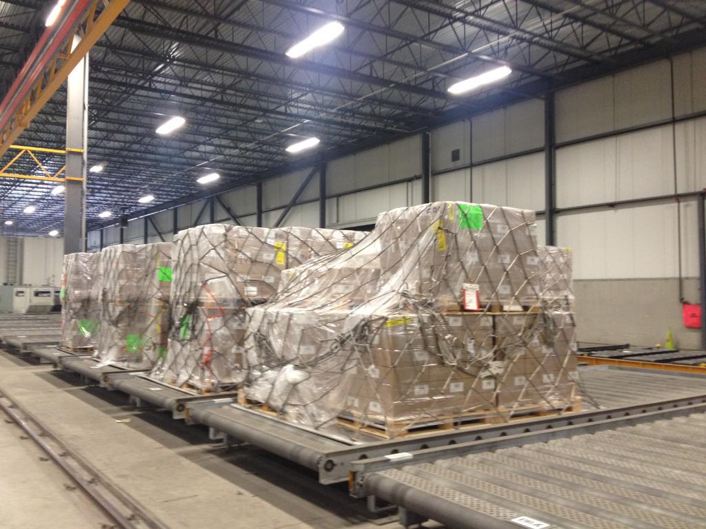 Lancement du 1er service tout-cargo Am. latine d'AC Cargo! En équipe avec @CargoJetAirways