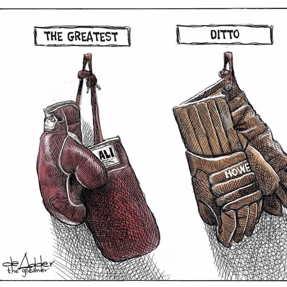Rough week for heroes.  #ali #GordieHowe https://t.co/QIT0GOxHGH