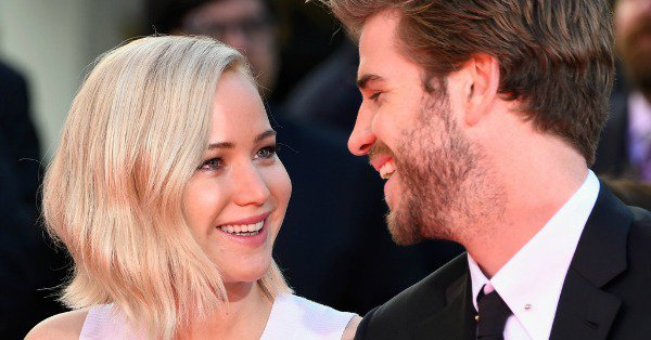 About that one thing Jennifer Lawrence told Liam Hemsworth in between Hunger Games takes.