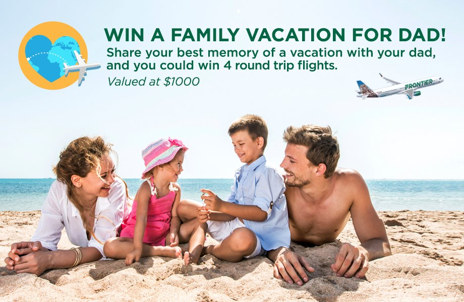 Father's Day Fly Away! Enter Here: