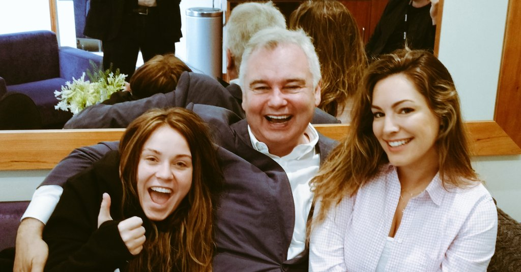 RT @EamonnHolmes: All 4 one & 1, 4 all - Loving the laughter ,  energy & ideas of @IAMKELLYBROOK & @VickyPattison for #itsnotmeitsyou https…