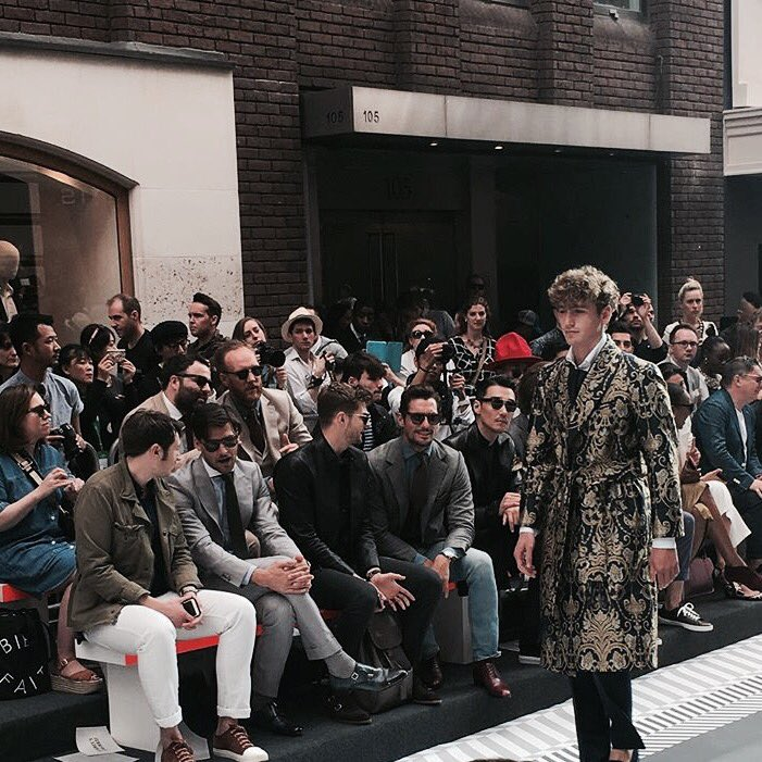 Jermyn St St James's #LCM #LCMSS17 with @joeottawaystyle @DGandyOfficial @NickCarvell @JimChapman @JohannesHuebl https://t.co/em3eFVY8nm