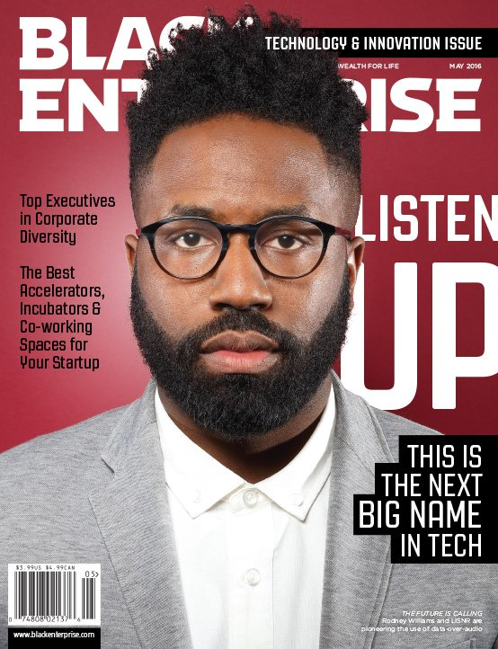 Check out @blackenterprise Technology & Innovation Issue w/ disruptors like @lisnr founder & CEO @rodneybwilliams https://t.co/MAdaDPAPP7