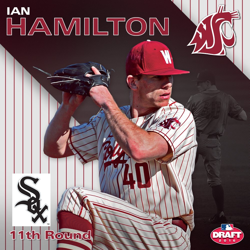Congrats to Ian Hamilton, drafted in the 11th round by the @whitesox #GoCougs #MLBDraft2016 https://t.co/14GqB2t4Od