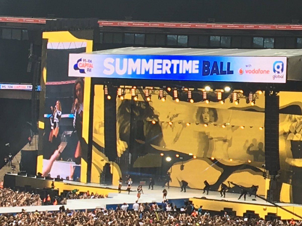 Little Mix are showing us how to Move! #CapitalSTB https://t.co/UjJF8qALIg