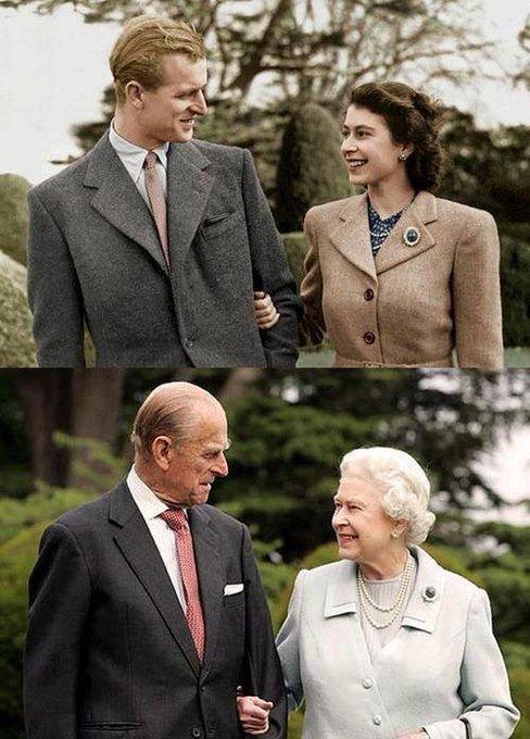 Happy 90th & 95th birthday to Queen Elizabeth and Prince Philip