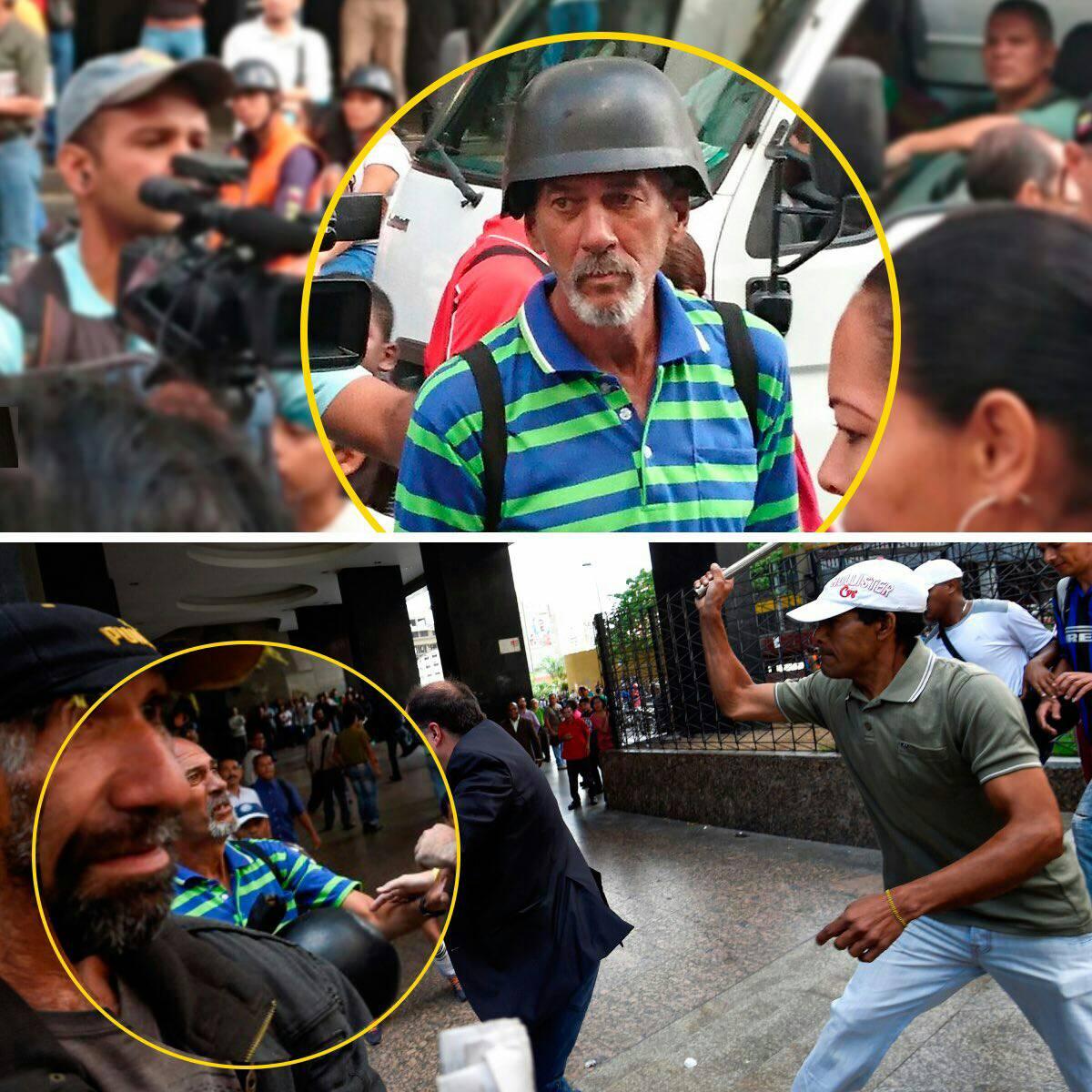 Para que se rechace de verdad la violencia y se haga Justicia, 2 de los agresores: Roberto Marcano y Franklin López. https://t.co/xPOaYDqUaP