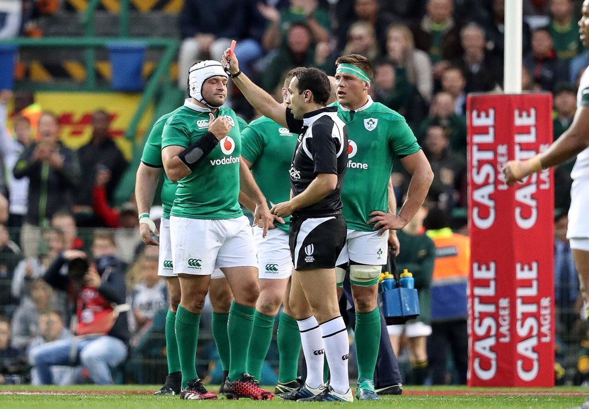 Down to 13, Ireland will need a super human performance to stay in touch with the Springboks. #COYBIG https://t.co/78u4qfTLZS