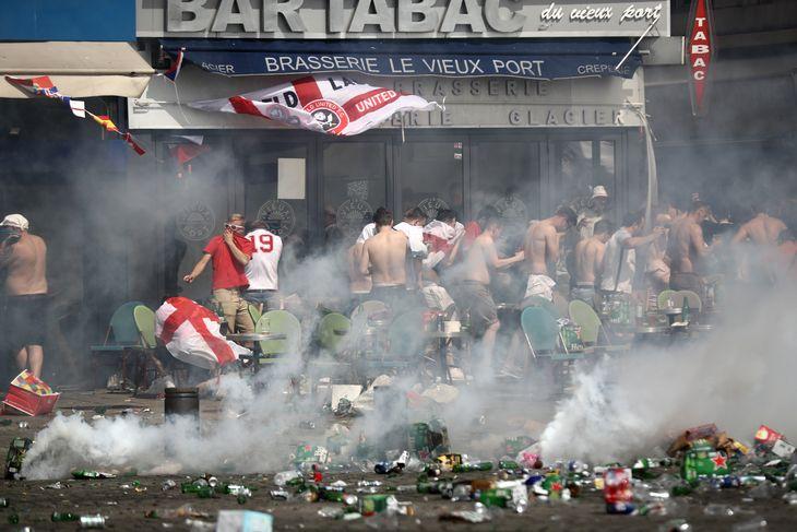 England and Russia Start World War III at Euro 2016