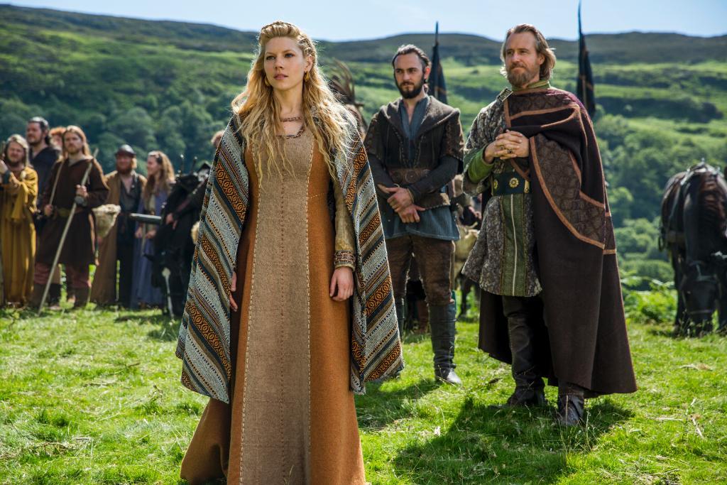 Сериал викинг одежда