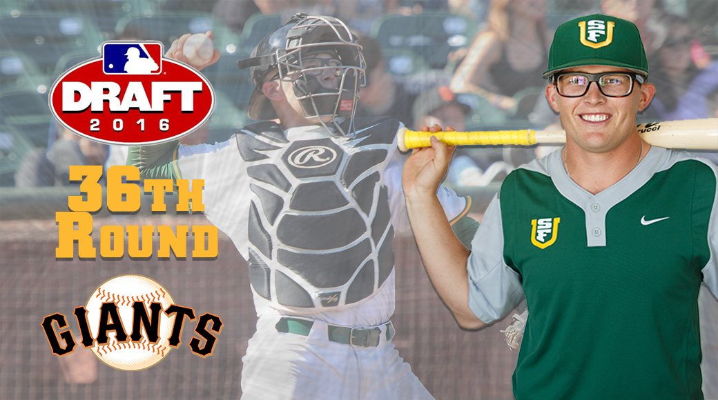 BASE | Cheers to @ryanmatranga for getting picked by the @SFGiants in the @MLBDraft! @SFDonsBaseball https://t.co/NmnvC8FSrg