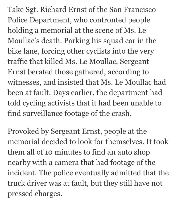 Cops drive constantly, so they side with drivers; sometimes, it can be hard to be a cyclist. https://t.co/L0ILtBkZ4T https://t.co/IH1MFQx4fS