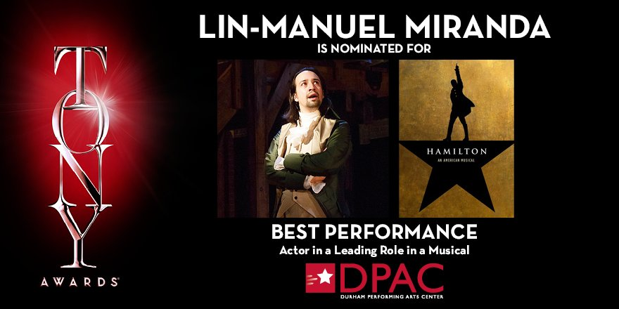 Retweet if you think @Lin_Manuel is going to win the #TonyAward for Best Performance- Actor in a Leading Role. https://t.co/I1On6qqlow