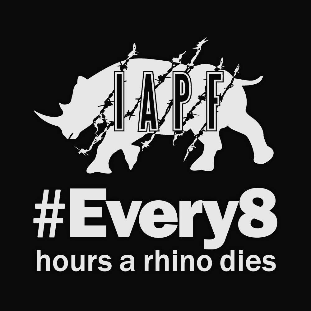 RT @IAPF: #Every8 hours an endangered rhino is gunned down by poachers to have their horn axed off. https://t.co/0WNCSubw11 https://t.co/KJ…