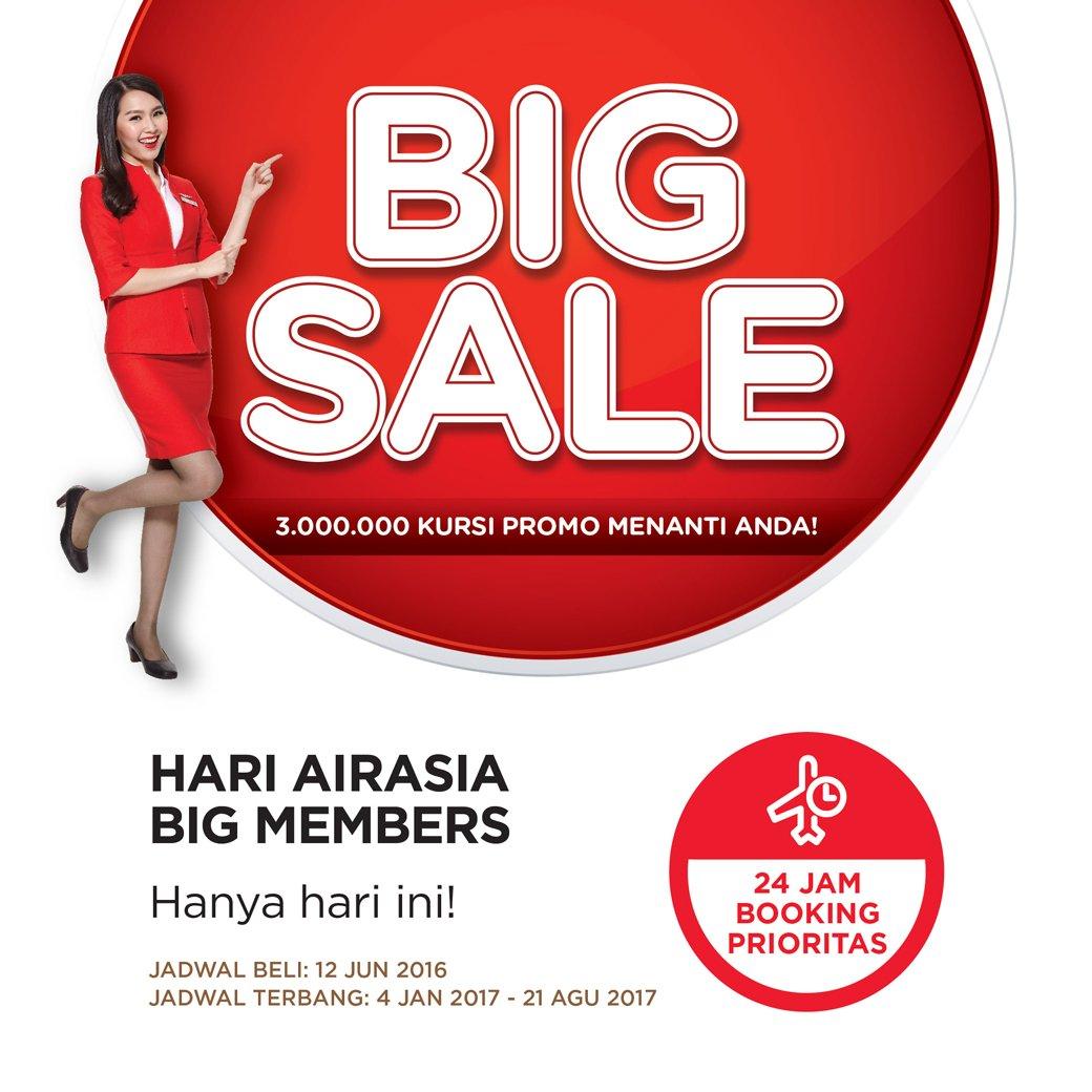 Mulai hari ini, khusus member AirAsia dapatkan Kursi Gratis AirAsia!