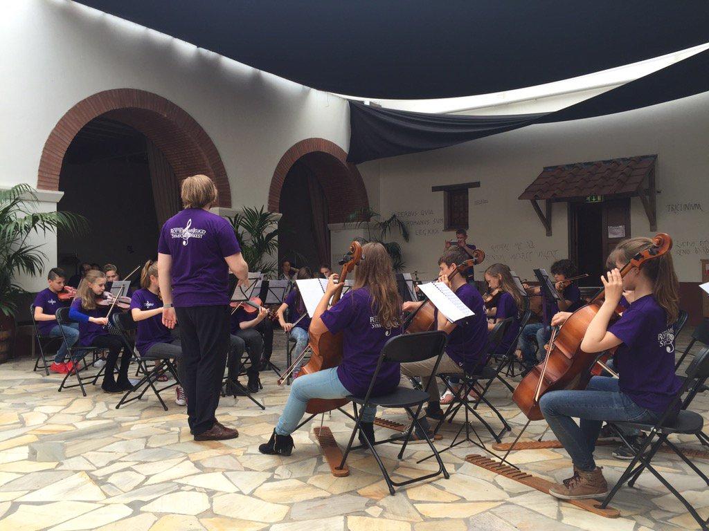 test Twitter Media - Het RJO in het Archeon tijdens het spektakel voor jeugdorkesten. https://t.co/Tg41QF15dF