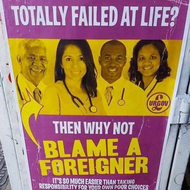 Totally failed at life? Then why not blame a foreigner? https://t.co/vykhg3GElI
