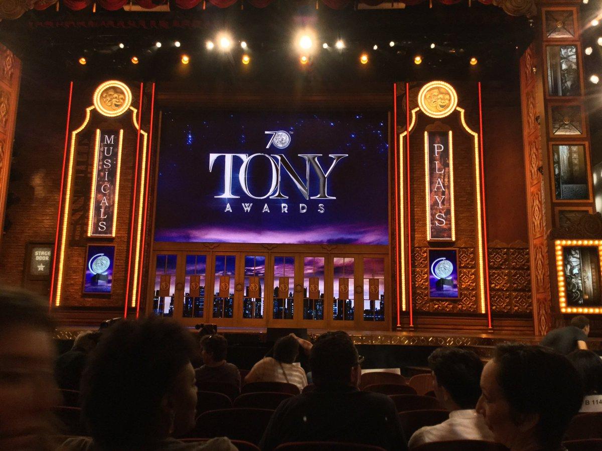 It's all happening! #TonyAwards https://t.co/qGn0GagDoy