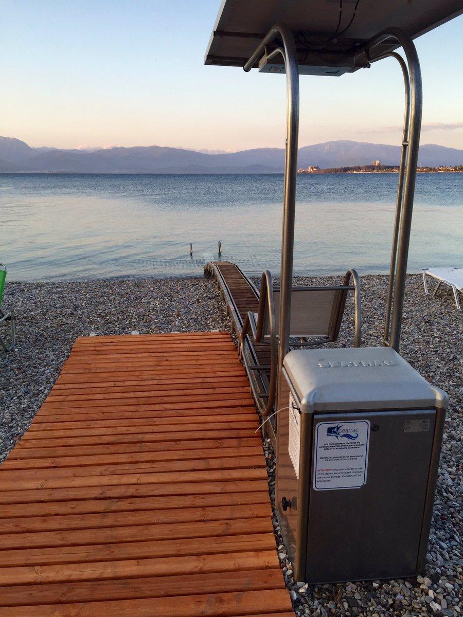 Συγχαρητήρια στο Δήμο Ρίου για την ευαισθητοποίηση που δείχνει στην πρόσβαση των ΑΜΕΑ στη θάλασσα. https://t.co/pE9MBrRbR7