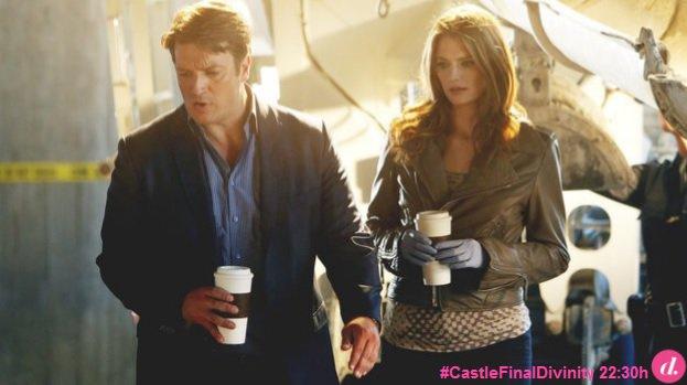 Momento 5: El café. Castle sabe cómo le gusta exactamente el café a Beckett y así se lo lleva todas las mañanas ☕️ https://t.co/smTCcJQMop