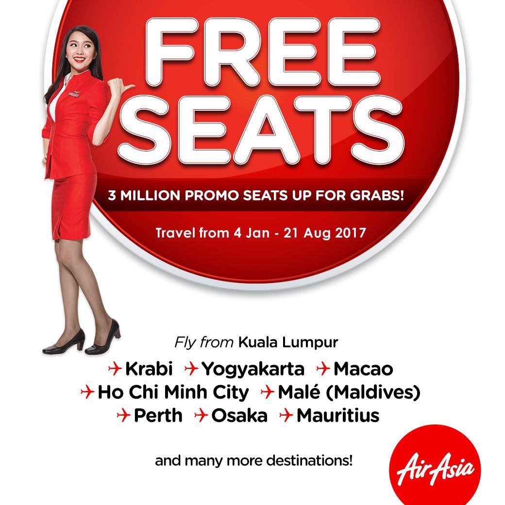 It's kick-off time! Grab your AirAsiaFreeSeats at  because this is the lowest it can get!