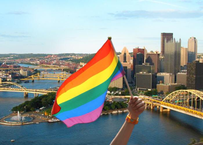 Pittsburgh stands with #Orlando! #morelovelesshate https://t.co/j1BSM3zgOI