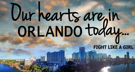 Sending our deepest love, thoughts, and prayers to the victims in Orlando, their loved ones, and our country. https://t.co/FfszLQaOOA