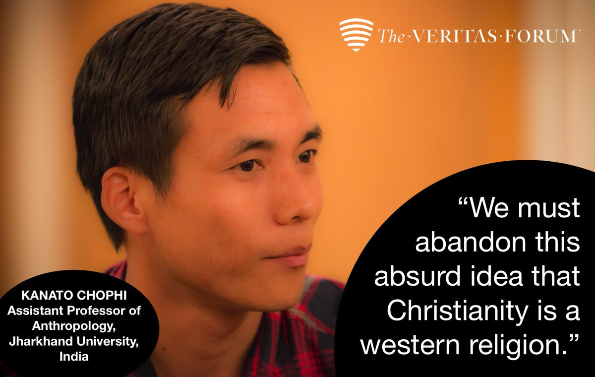 """We must abandon this absurd idea that Christianity is a western religion.""  Kanato Chophi, Anthropology prof. https://t.co/rgAY9gfshR"