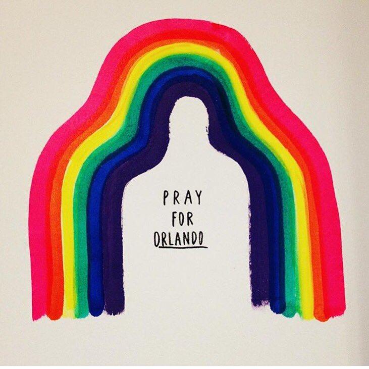 Por um mundo onde todos passem a Reconhecer, Aceitar e Respeitar as diferenças. #PrayForOrlando https://t.co/Kzzbdj4mme