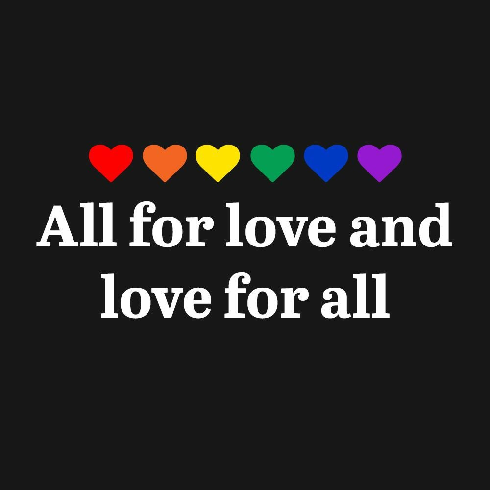 Our hearts are so heavy today. Our thoughts and love go out to Orlando.