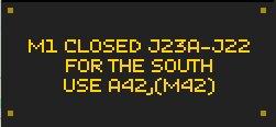 Reminder: If at @DownloadFest please be aware that #M1 is closed s/b btwn J23A - J22.  https://t.co/44uAxVWaez https://t.co/N8whgoCGp0
