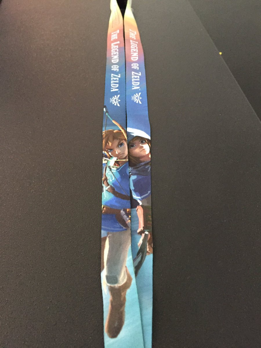 Here's our @E3 2016 lanyard, which celebrates Zelda's 30th anniversary! #Zelda30 #E32016 https://t.co/o2AG30XJ5F