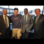Royalty stopped by our booth this afternoon! @Jeff_Daniels & @JohnKeatingFSD https://t.co/7owu82OiDE