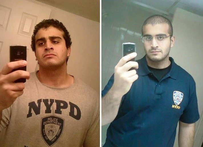 Why media not showing us these pics ? he supported the NYPD Omar Mateen #orlando but they'll show us to blame islam https://t.co/FK6SEENYOs