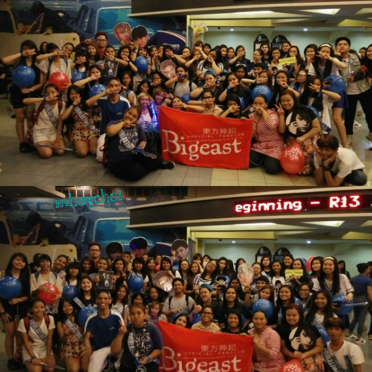 SMTOWN FEST Event in the PH. ELF and CASSIE are united... Pepsi Fandom is so Amazing ♥♥♥ #SMTF https://t.co/Brp8lEVH7k