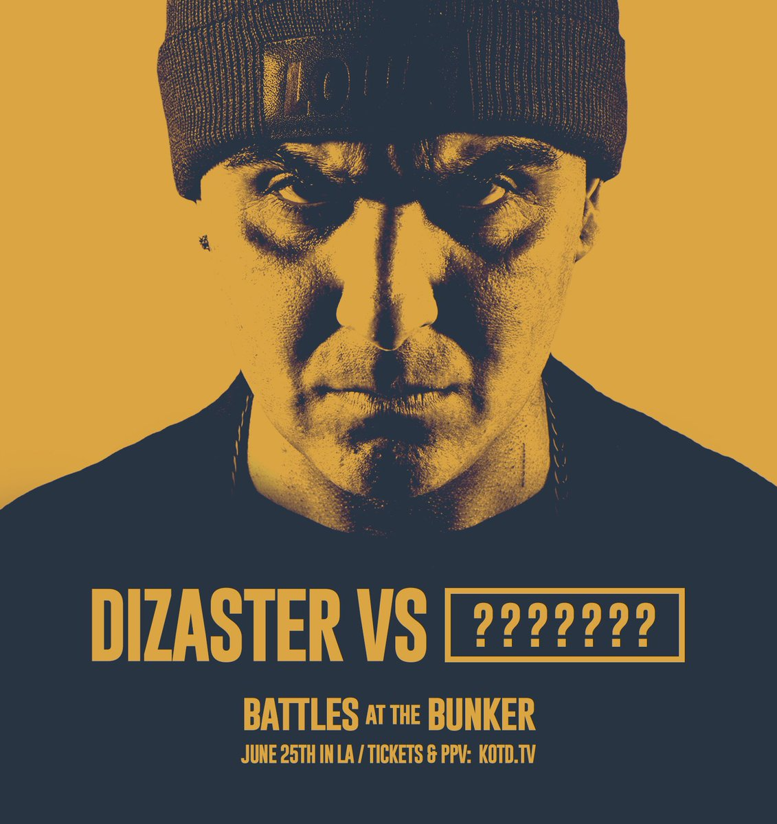 JUST ANNOUNCED: @MRDIZASTER will be battling a mystery top tier opponent at #BATB June 25th in LA. https://t.co/KHYyC7QtNU
