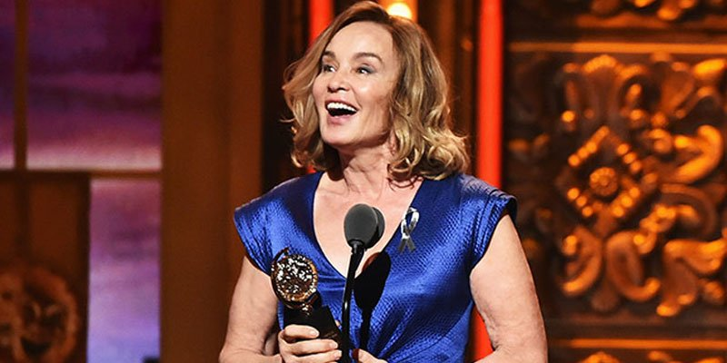 Jessica Lange is only one award away from EGOT after nabbing Best Actress at TonyAwards!