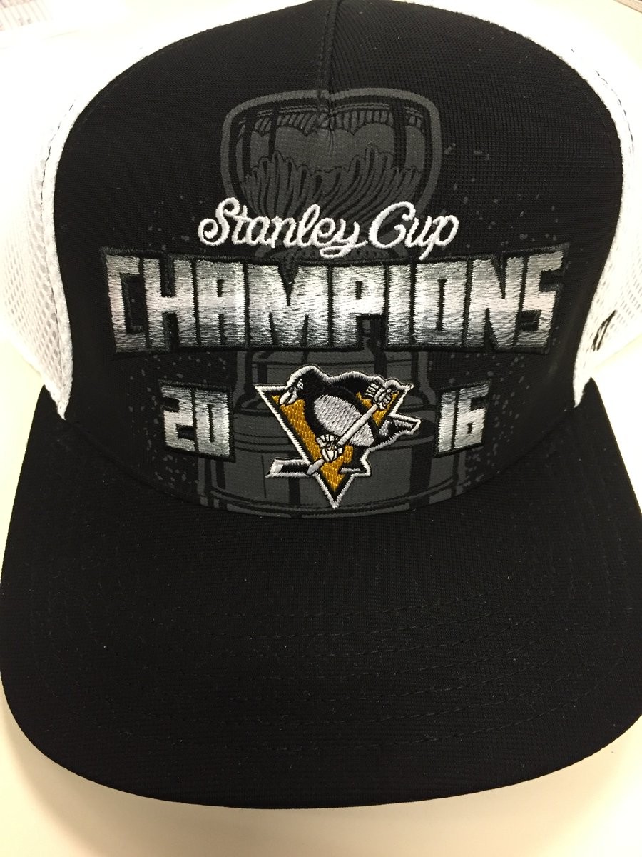The @penguins have won the #StanleyCup! RETWEET for a chance at their champions hat or visit https://t.co/tZBRT3X4Y0 https://t.co/UTDeH8bOZd