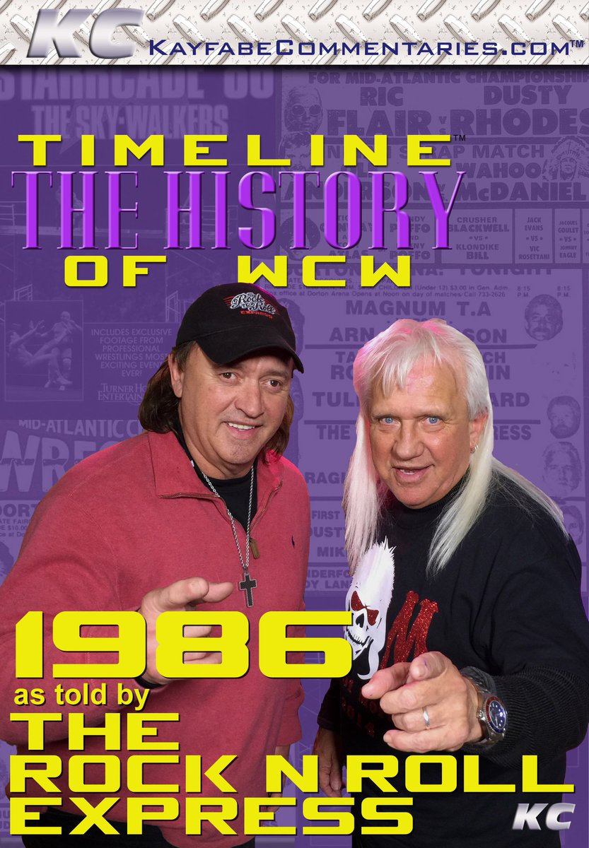 Tomorrow night it's time to ROCK n ROLL with Ricky and Robert as they take you back to 1986 in WCW! https://t.co/aQJPru0mKg