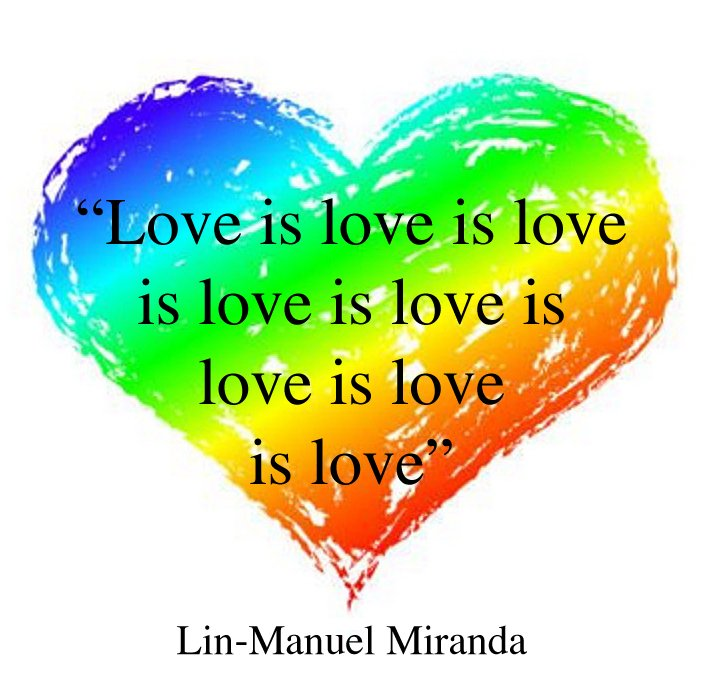 #LoveIsLove @Lin_Manuel https://t.co/Cai5KqrthR