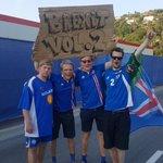 Iceland fans ???????? #ENGICE #EURO2016 https://t.co/KI2Armpbiv