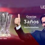 Gracias, @SevillaFC y sevillistas, por estos 3 años y medio de alegrías compartidas. https://t.co/jCcmKOJEDC https://t.co/pH0mzRuHlq