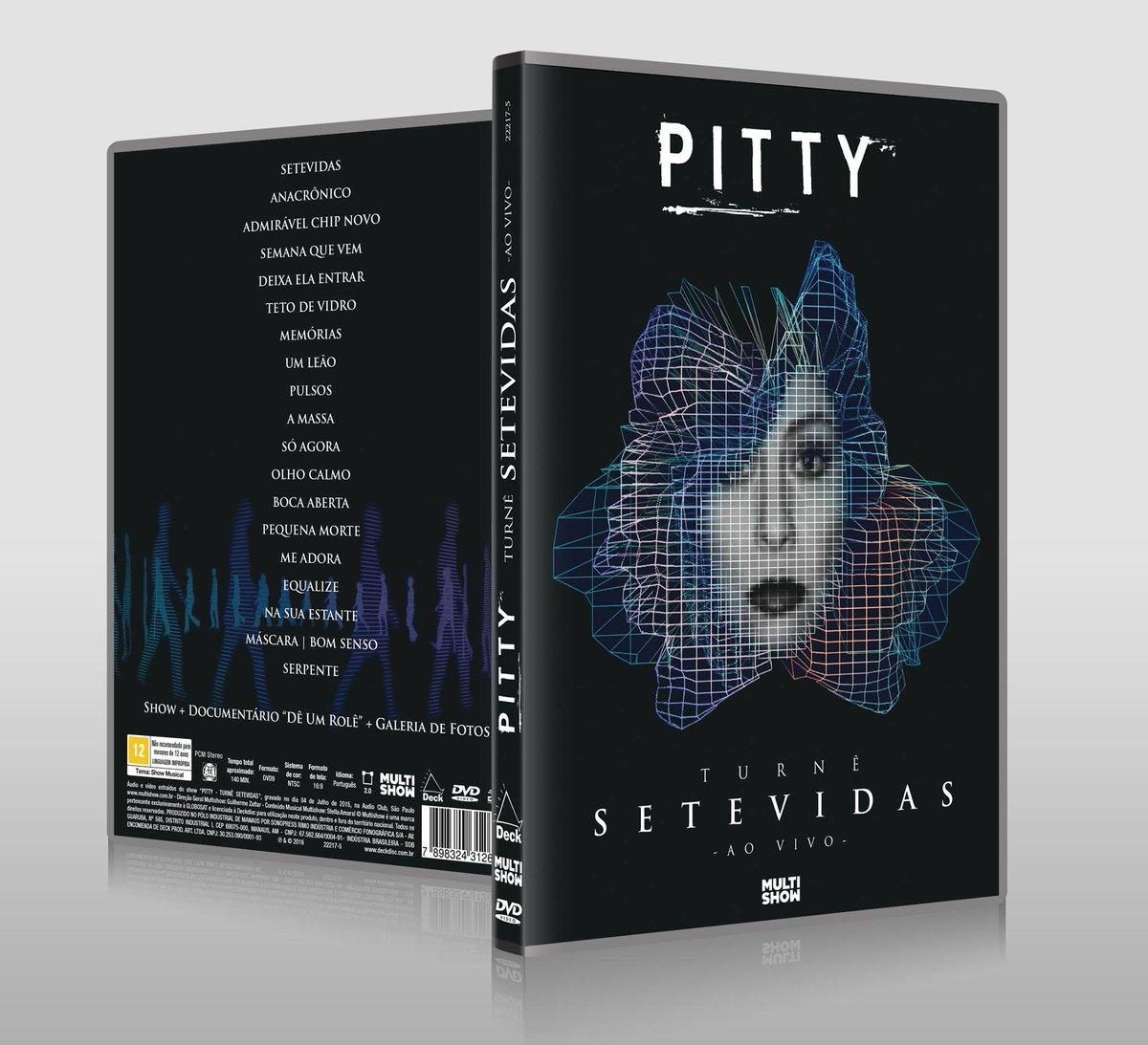 ".@Pitty divulga a capa do novo DVD ""Turnê SETEVIDAS – Ao Vivo"". Veja mais >> https://t.co/CxLIDzLUCd https://t.co/sDmzVkZDWV"