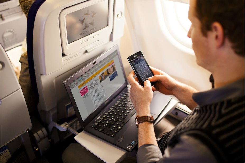 Stay connected on board, soon also on short- and medium-haul flights.