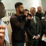 #Drake in Johannesburg. He briefly spoke to youth about achieving their dreams #youthmonth2016 https://t.co/Aq13etQZUn