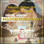 """""""Destiny is to find Love in the most unexpected ways."""" ImagineYouAndMe in Cinemas Jul13 ! ???? OHT #ALDUBIYAMin15Days https://t.co/SJy06C48Cj"""