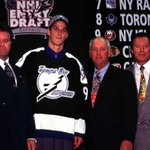 THIS DATE IN 1998: The @TBLightning used the first overall pick in the #NHLDraft to select Vincent Lecavalier. https://t.co/6uZVERsdsS