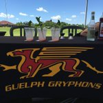 What a perfect day for golf. And our Moscow Mules! @guelph_gryphons @uofg @UofGalumni #UofG https://t.co/VbwKPfu4fV